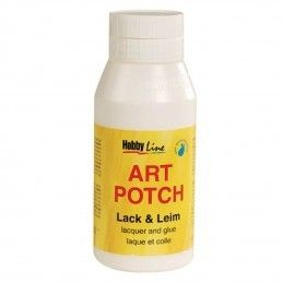 ART POTCH 750 ML PEGAMENTO Y BARNIZ MATE
