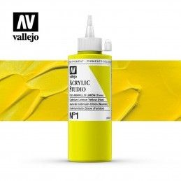 VALLEJO STUDIO AMARILLO CADMIO LIMON 200 ML