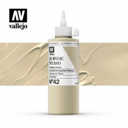 VALLEJO STUDIO TITANIO CRUDO 200 ML