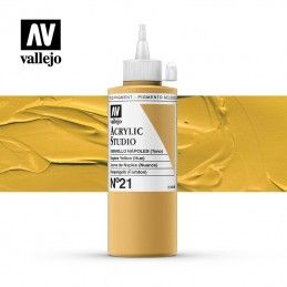 VALLEJO STUDIO AMARILLO NÁPOLES 200 ML