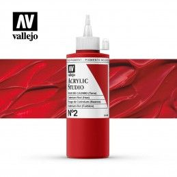 VALLEJO STUDIO ROJO CADMIO 200 ML