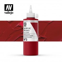 VALLEJO STUDIO ROJO CARMÍN 200 ML