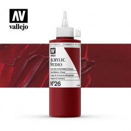 VALLEJO STUDIO ROJO GARANZA 200 ML