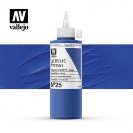 VALLEJO STUDIO AZUL COBALTO 200 ML