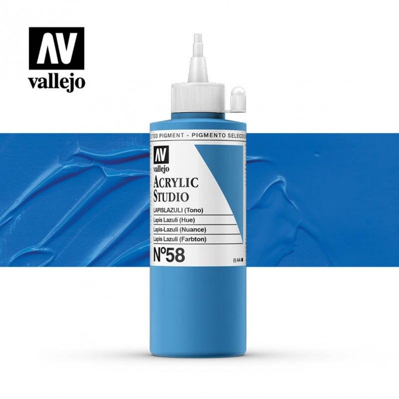 VALLEJO STUDIO LAPISLAZULI 200 ML