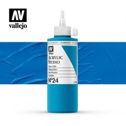 VALLEJO STUDIO AZUL CYAN 200 ML