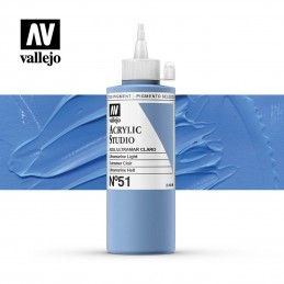 VALLEJO STUDIO AZUL ULTRAMAR CLARO 200 ML