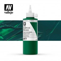 VALLEJO STUDIO VERDE PERMANENTE 200 ML