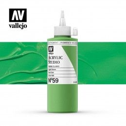 VALLEJO STUDIO VERDE CLARO 200 ML