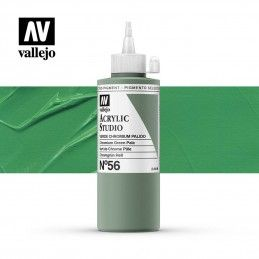 VALLEJO STUDIO VERDE CHROMIUN PALIDO 200 ML
