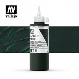 VALLEJO STUDIO VERDE VEJIGA 200 ML