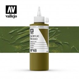 VALLEJO STUDIO VERDE OLIVA 200 ML