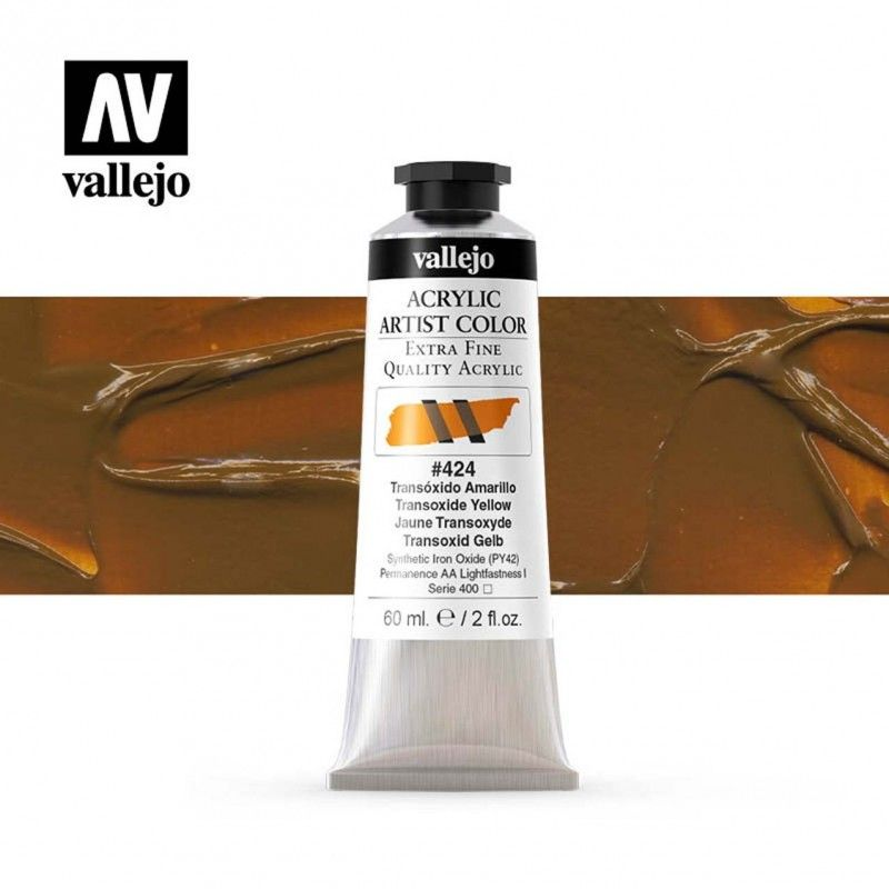 ARTIST COLOR 424 TRANSÓXIDO AMARILLO 60 ML