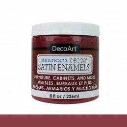 SATIN DECOART ENAMELS RUBI OSCURO 236 ML