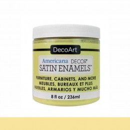 SATIN DECOART ENAMELS AMARILLO MANTEQUILLA 236 ML