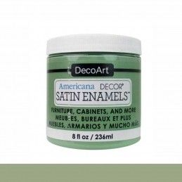 SATIN DECOART ENAMELS VERDE MUSGO 236 ML
