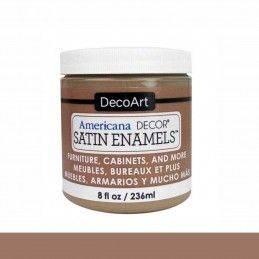 SATIN DECOART ENAMELS SABLE NATURAL 236 ML