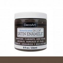 SATIN DECOART ENAMELS CASTAÑA INTENSA 236 ML