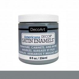 SATIN DECOART ENAMELS GRIS HUMO 236 ML
