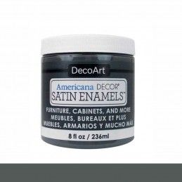 SATIN DECOART ENAMELS GRIS CARBÓN 236 ML