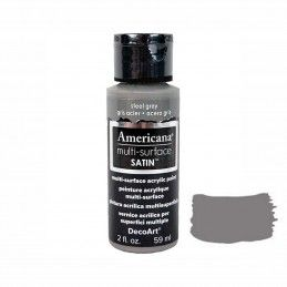 ACERO GRIS 59 ML AMERICANA MULTI-SUPERFICIE SATIN
