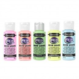 ACRILICO NEON LIGHT AMERICANA 59 ML DECOART