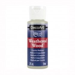 WEATHERED WOOD CRACKLE MEDIUM DECOART 59ML