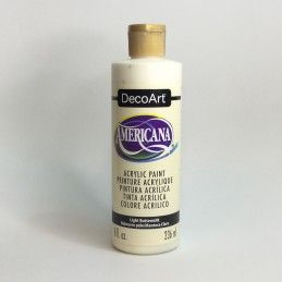 AMERICANA MANTECA CLARO 236 ML DECOART