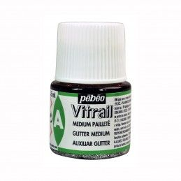 MEDIUM PURPURINA VITRAIL PEBEO 45 ML