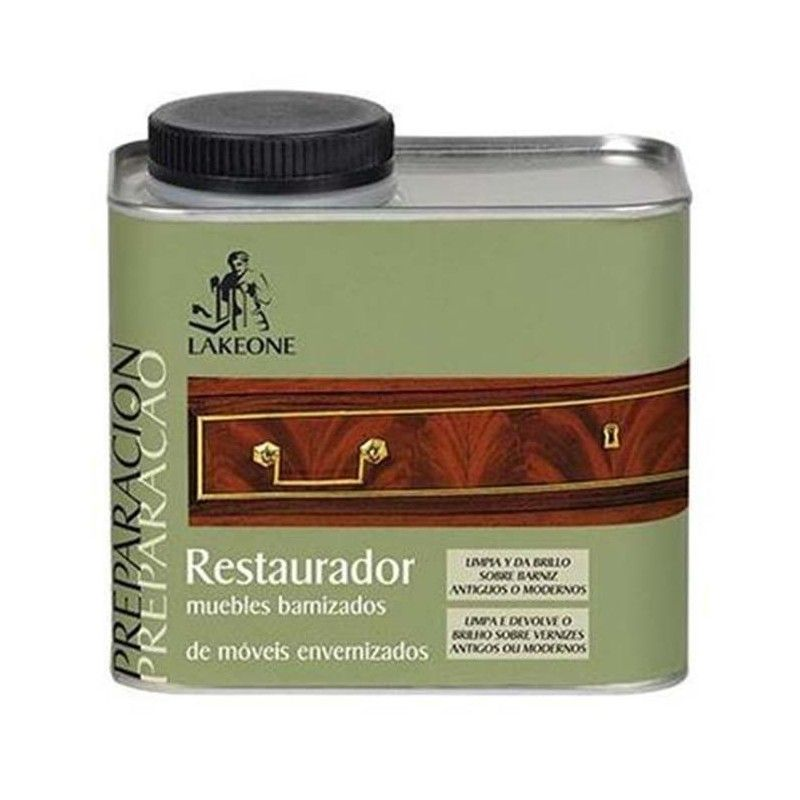 RESTAURADOR MUEBLES BARNIZADOS 450 ML LAKEONE