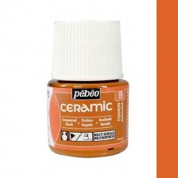 PINTURA CERAMIC PEBEO AVELLANA 45 ML