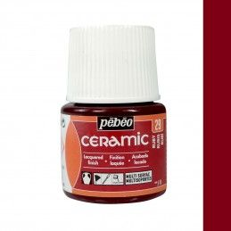 PINTURA CERAMIC PEBEO RUBI 45 ML