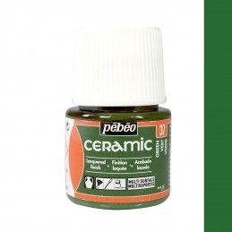 PINTURA CERAMIC PEBEO VERDE 45 ML