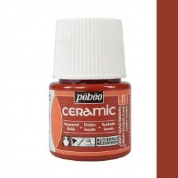PINTURA CERAMIC PEBEO CAREY CLARO 45 ML