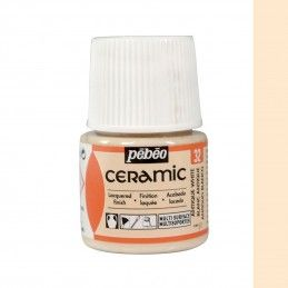 PINTURA CERAMIC PEBEO BLANCO ANTIGUO 45 ML