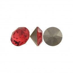 XIRIUS CHATON SWAROVSKI INDIAN RED 8 MM (5 UNIDADES)