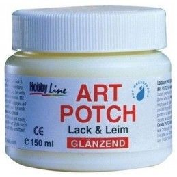 ART POTCH 150 ML PEGAMENTO Y BARNIZ BRILLANTE