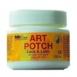 ART POTCH 150 ML PEGAMENTO Y BARNIZ MATE