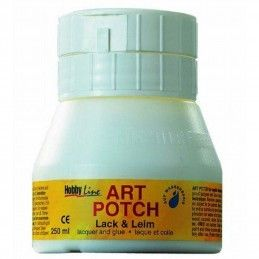 ART POTCH 250 ML PEGAMENTO Y BARNIZ MATE