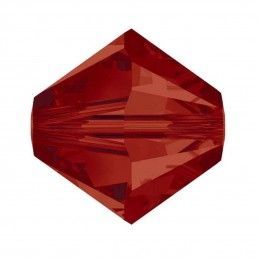 TUPI 4 mm 12 ud INDIAN RED SWAROVSKI
