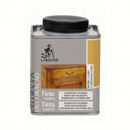 TINTE MADERA ROBLE CLARO LAKEONE 225ML