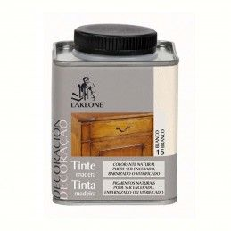 TINTE MADERA BLANCO LAKEONE 225ML