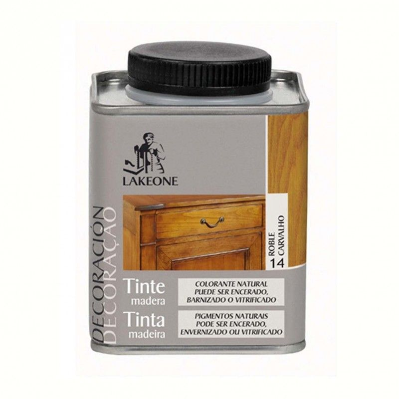 TINTE MADERA ROBLE LAKEONE 225ML