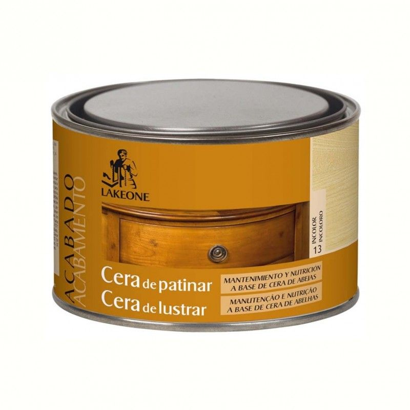 CERA PATINAR LAKEONE 300 ML INCOLORA