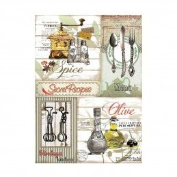 PAPEL DE ARROZ SECRET RECIPES 30x41 CM