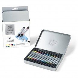 CAJA DE 12 ROTULADORES WATER COLOUR WINSOR & NEWTON