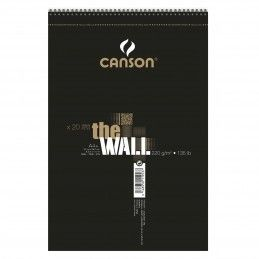 BLOCK DE DIBUJO CANSON A4 THE WALL
